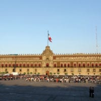 Palacio Nacional in Zocalo Mexico City Mexico Contours Travel