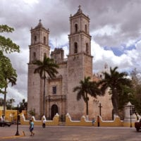 Mexico Yucatan Church in Merida Contours Travel