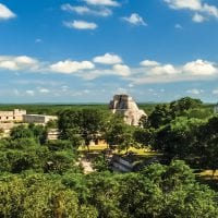 Uxmal ruins in Yucatan Mexico Sectur Contours Travel