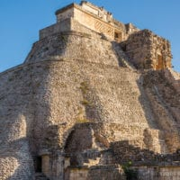 Uxmal ruins Contours Travel