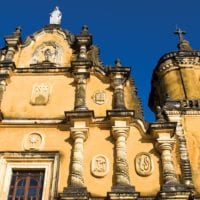Church the recollection in Leon, Nicaragua Central America Contours Travel