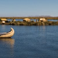 Peru Lake Titicaca Uros reed Islands Contours Travel