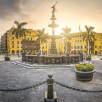 Main Square in Lima Peru Contours Travel