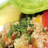Peru food quinoa salad Contours Travel