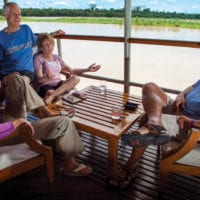 Deck Iquitos Amazon Peru Delfin II Cruise Contours Travel