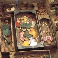 Lord of Sipan, Tomb of royalty from Moche civilization in Peru Contours Travel