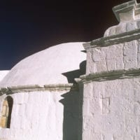 Peru Arequipa Colca Valley Colca Canyon Dome of the Lari Church Contours Travel