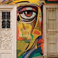 Cultural Barranco street art in Lima Peru Coltur Contours Travel