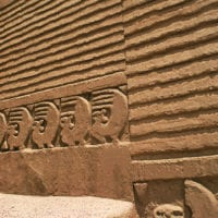 Mud Wall at Chan Chan ruins in Trujillo, Peru Contours Travel