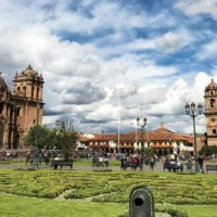 Peru Cuzco Diego Curutchet Plaza Cathedral Contours Travel