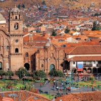 Cuzco Plaza and Cathedral Peru Contours Travel