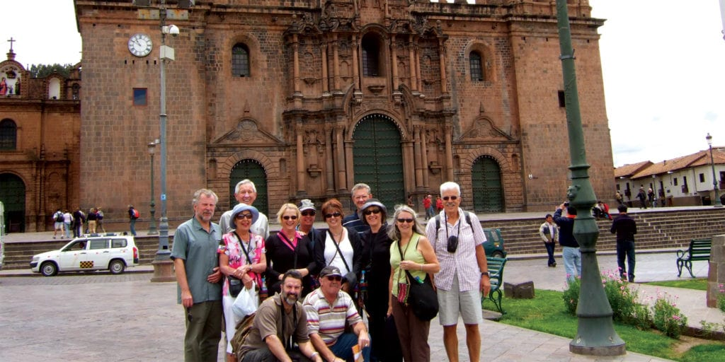 Small Group in Cuzco