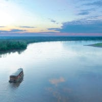 Sailing the Amazon River Iquitos Peru Delfin II Cruise Contours Travel