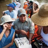 Learning with guides Activities Iquitos Peru Delfin Cruise Contours Travel