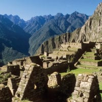 Machu Picchu ruins Peru South America Condor Contours Travel