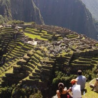 People in Machu Picchu Peru Metropolitan Contours Travel