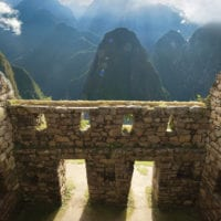 View from Machu Picchu citadel Contours Travel