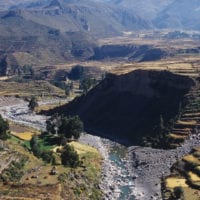 Peru Colca Canyon River Promperu Contours Travel