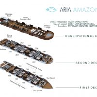 ARIA AMAZON - Deck Plan